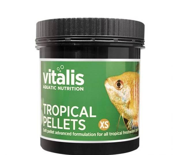Bilde av Vitalis Tropical Pellets xs - 120g