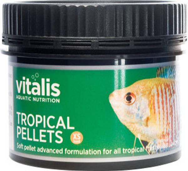 Bilde av Vitalis Tropical Pellets xs - 60g
