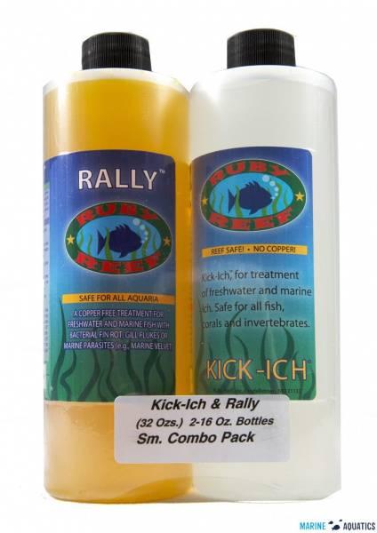 Bilde av  Kick-ich and Rally Combo (2x 480ml) Reef Safe Medisin